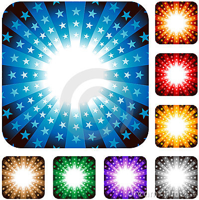 Free Star Explosion Background Stock Images - 15551294