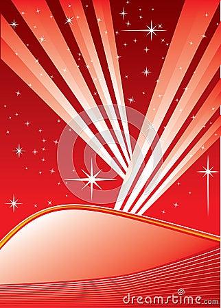 Star field background /vector illustration