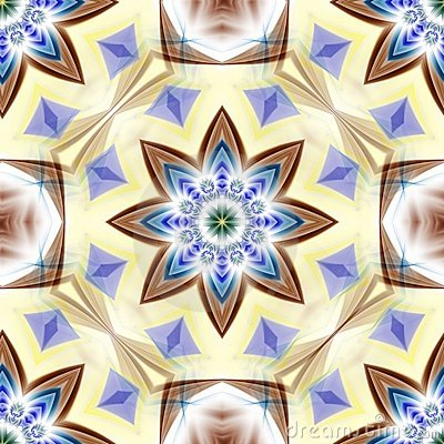 Star Flower Abstract
