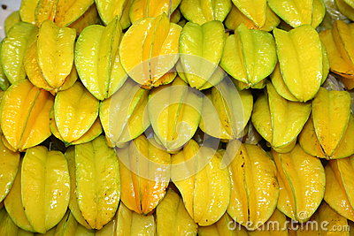 The star fruit or Carambola fruit