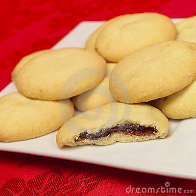 Star fruit mince biscuits
