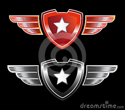 Star insignia logo