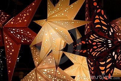 Star Lanterns Stock Images - Image: 12996324