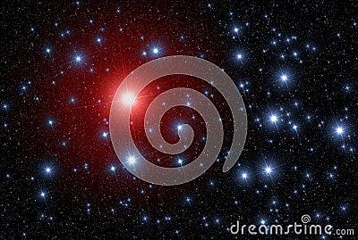 Star leader leadership space
