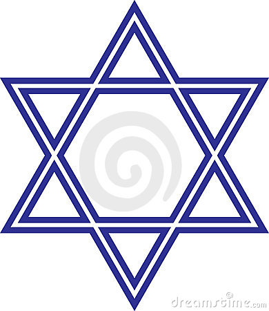 Free Star Of David Royalty Free Stock Photography - 13554847