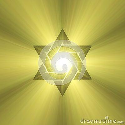 Free Star Of David Starlight Flare Stock Image - 3436101