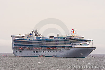 Star Princess at Anchor Editorial Image