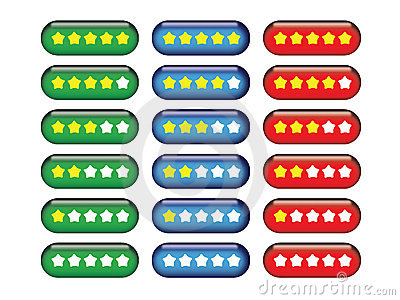 Star Rating Buttons