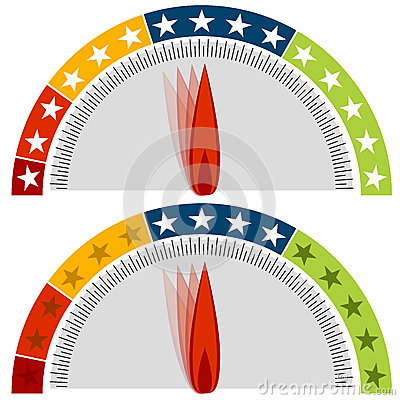 Star Rating Gauge