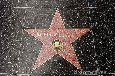 The star of Robin Williams Editorial Photography