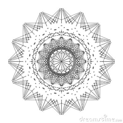 Star shape abstract