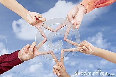 Star shape gesture