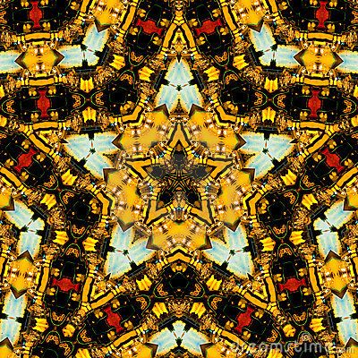 Star-shape kaleidoscope