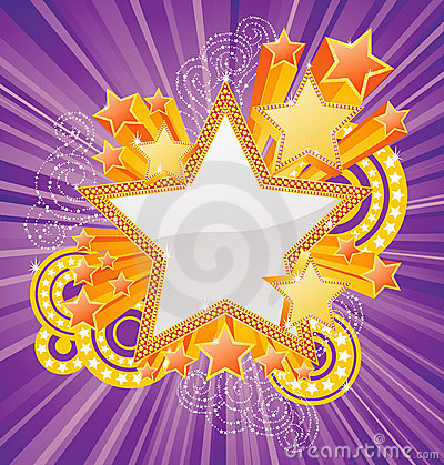 Star shaped banner