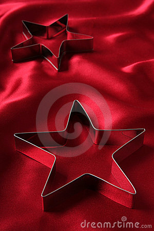 Free Star Shaped Cookie Cutters Stock Image - 446541