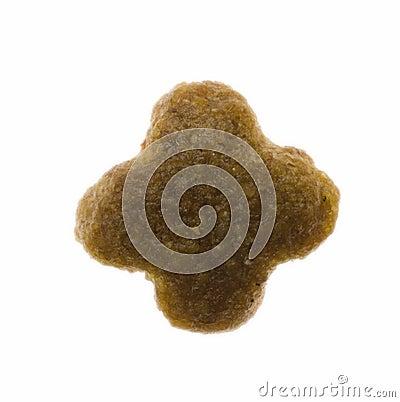 Star shaped single pet food