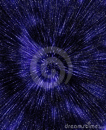 Star sky in outer spice.