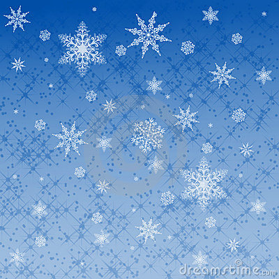 Star and snowflake pattern