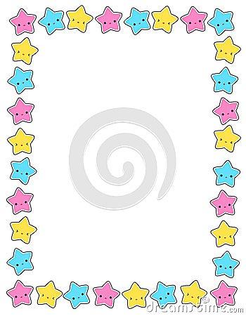 Free Star / Stars Border Stock Photo - 12221290