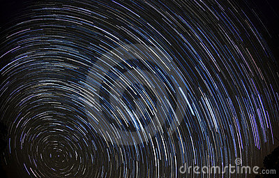 Star trails (90 minutes)
