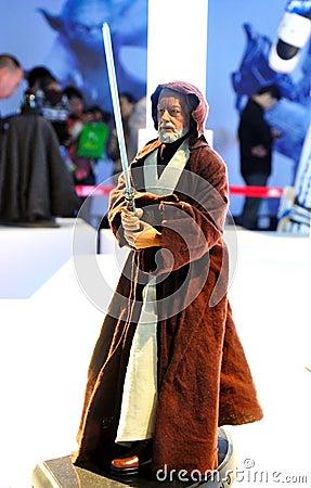 Star Wars Master Obi-Wan Kenobi Editorial Photo