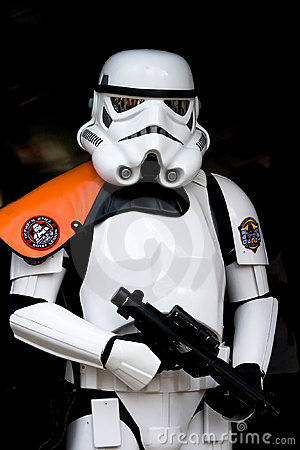 Star Wars trooper Editorial Photo