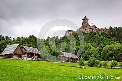 Готский замок Stara Lubovna