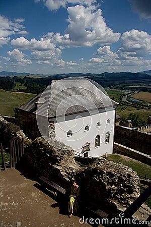 Stara Lubovna castle Editorial Image