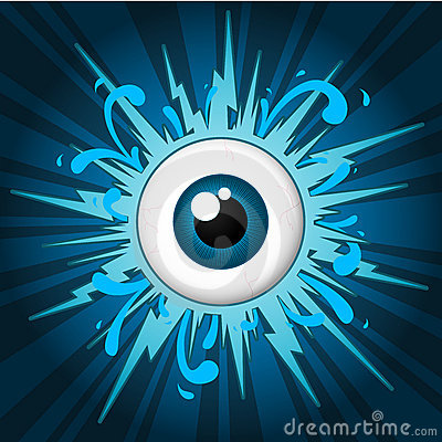 Starburst with eyeball