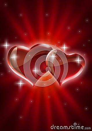 Free Starburst Love Royalty Free Stock Image - 12421926