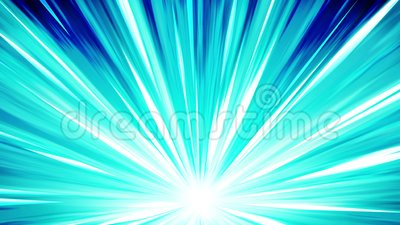 Starburst promienie w przestrzeni Kreskówka promienia pętli animacja Przyszłościowy technologii pojęcia tło Wybuch gwiazda z lini