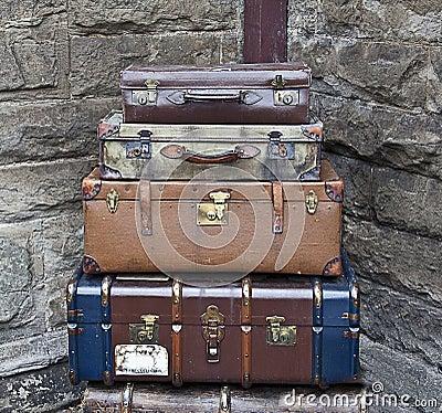Stare walizki