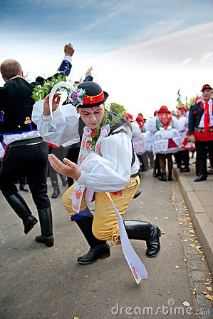 Starek dance Verbunk Editorial Stock Image