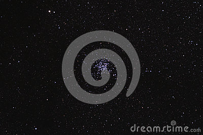 Starfield with Wild Duck Cluster (M11)