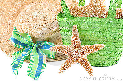 Starfish with Beach accesories