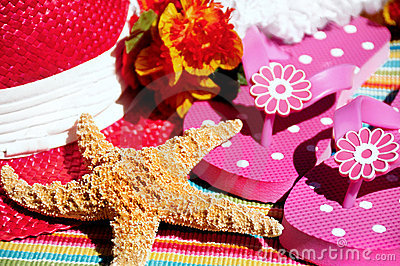 Starfish on beach accessories