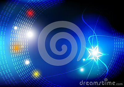 Starlight abstract background