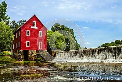 Starrs Mill, a historic landmark near Atlanta