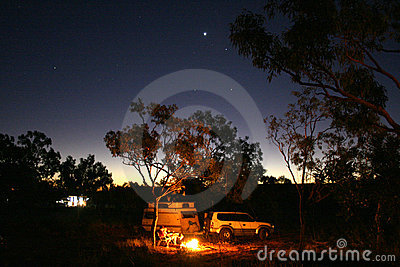 Starry Camping, Australia