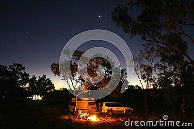 Starry Camping, Australia