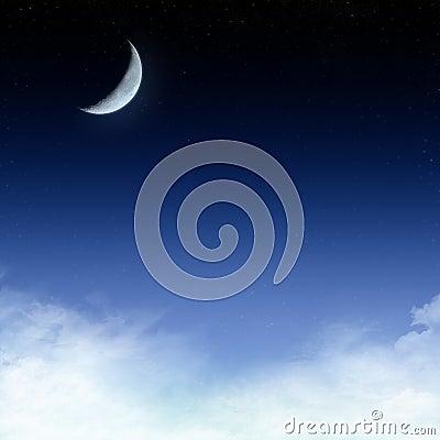Free Starry Night Sky Background Stock Photography - 4739652