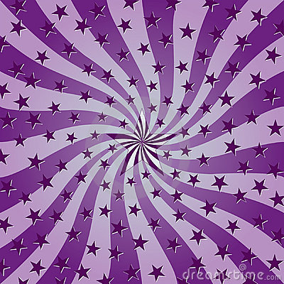 Starry Swirl Background