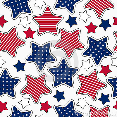 Free Stars And Stripes Pattern Stock Photo - 19442990