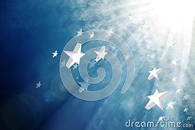 Stars and beam