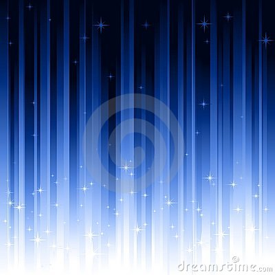 Stars blue vertically striped background