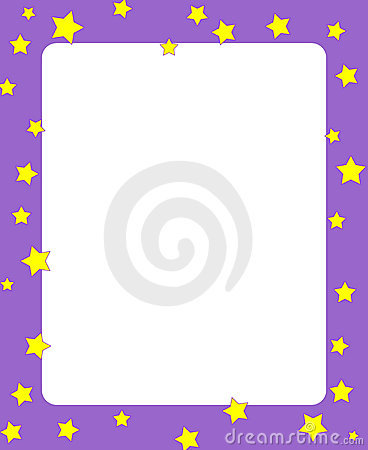 Stars border / frame