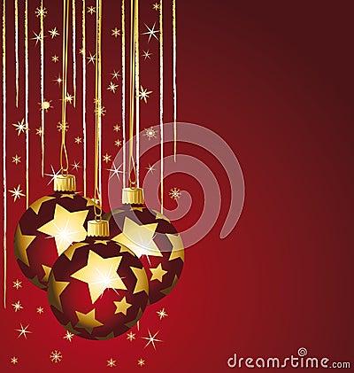 Stars christmas balls