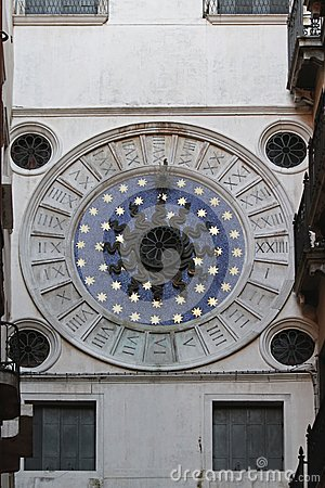 Stars clock