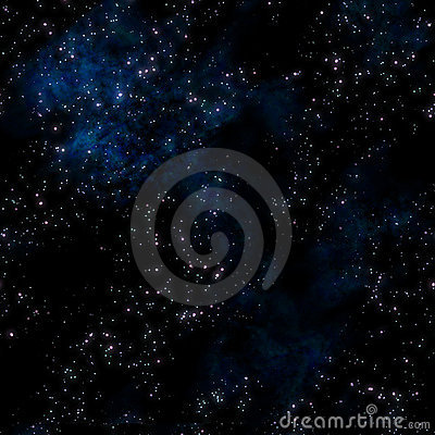 stars in deep or outer space