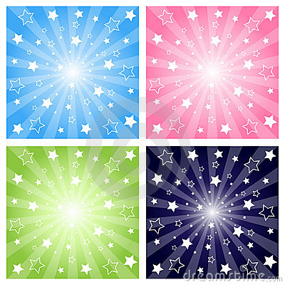 Free Stars Explosion Royalty Free Stock Images - 15887139